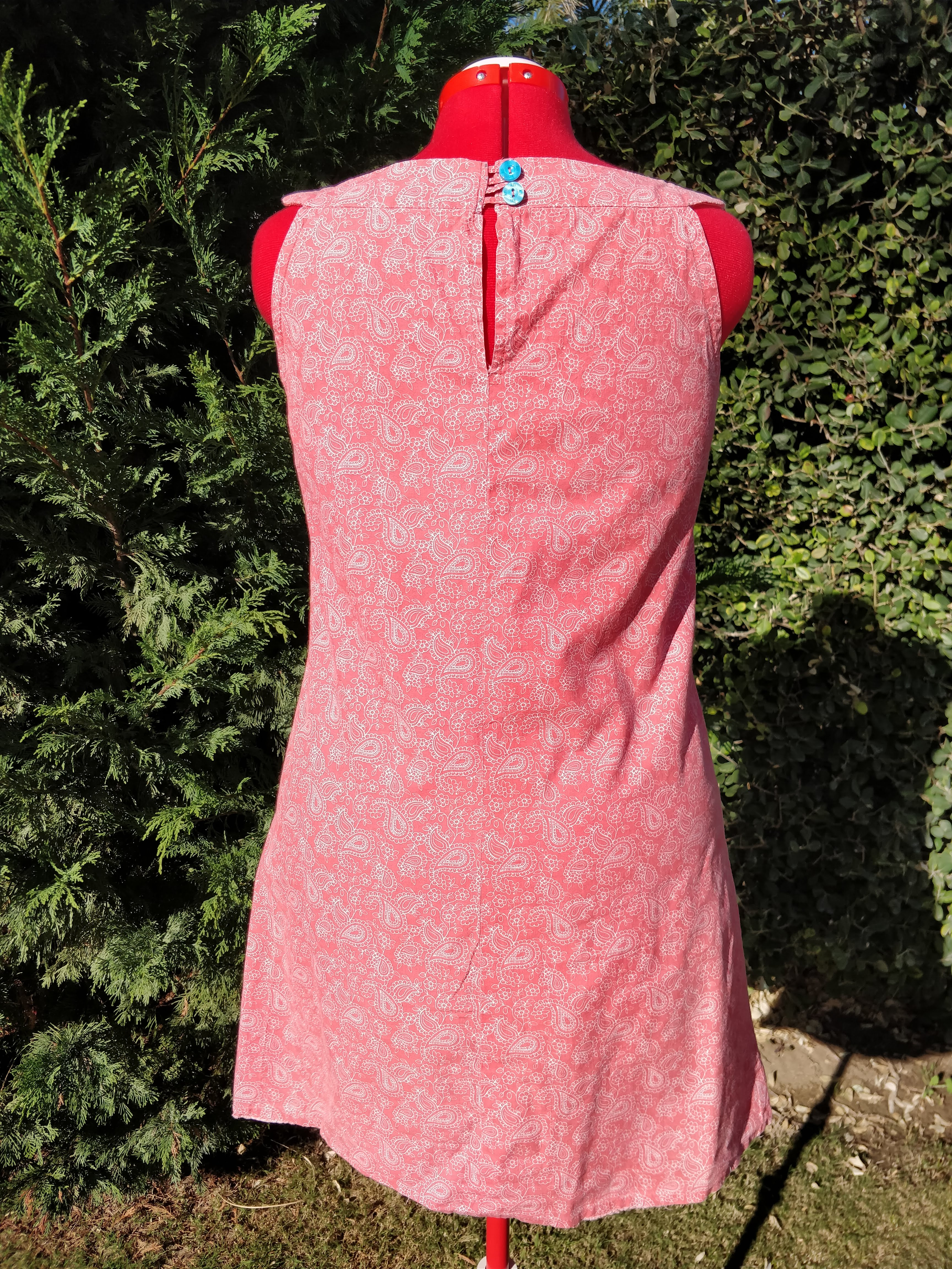 new look cotton dress sewing andalucia