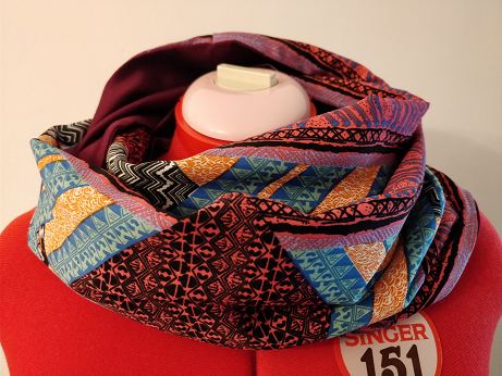 infinity scarf sewing andalucia gibraltar