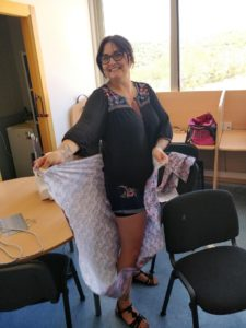 sewing workshops costa del sol skirt