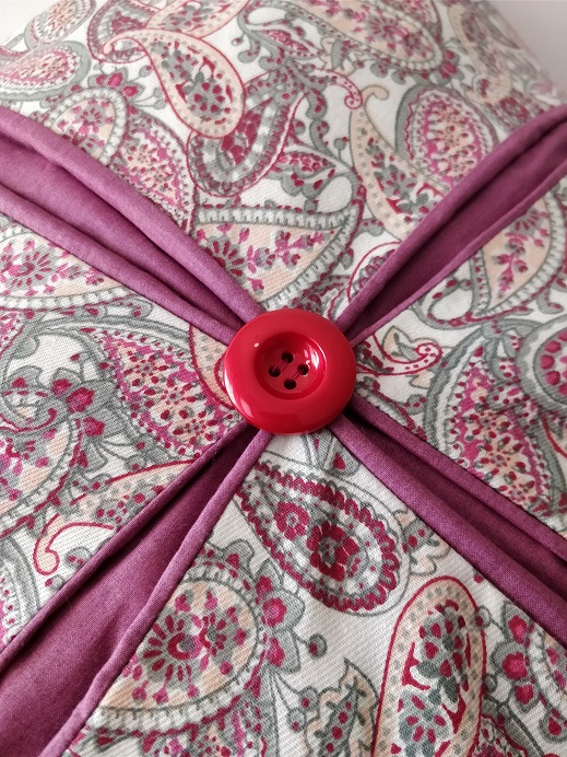 cushion with a zip