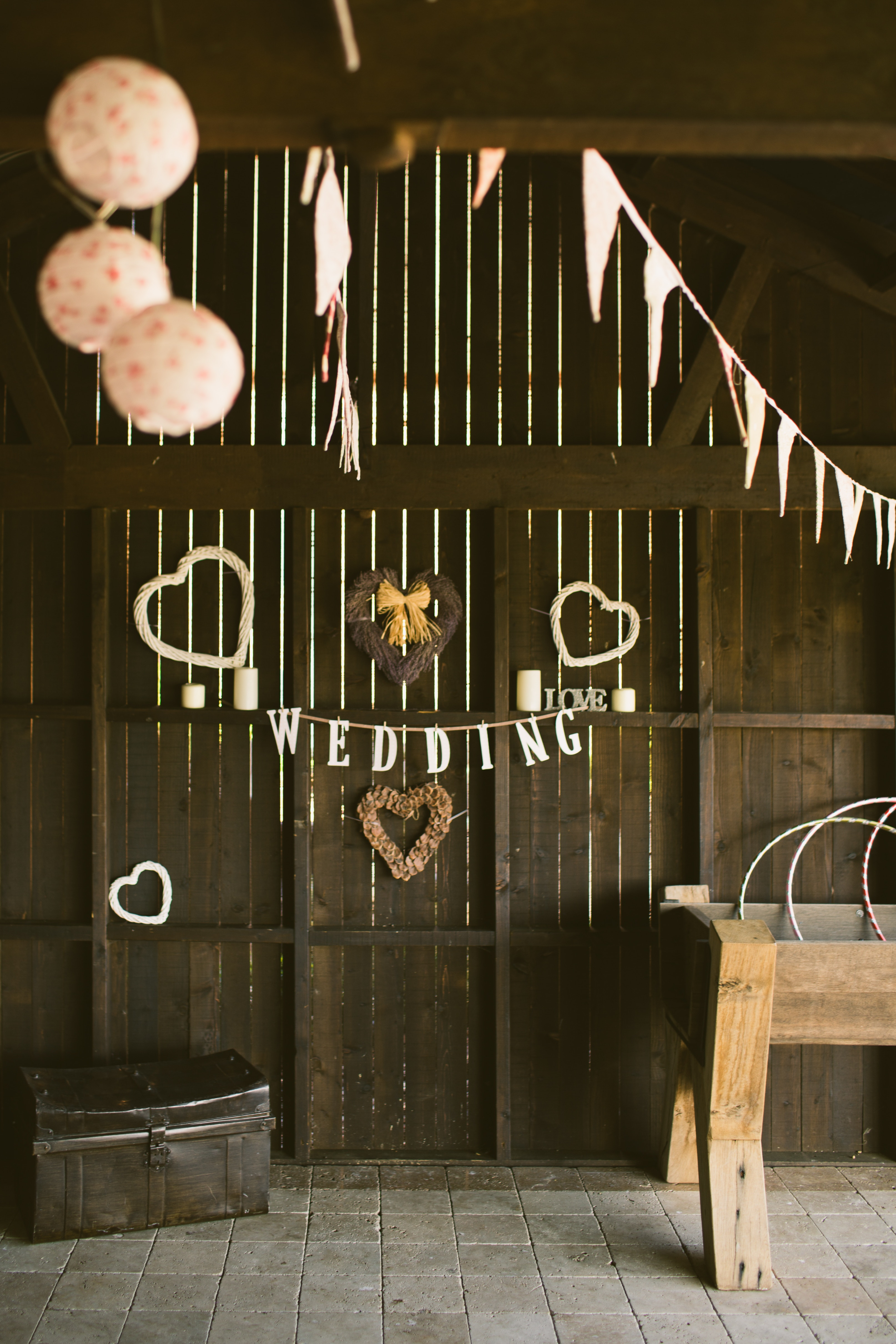 handmade wedding decorations workshop spain