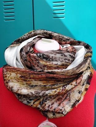 personalised scarf workshop