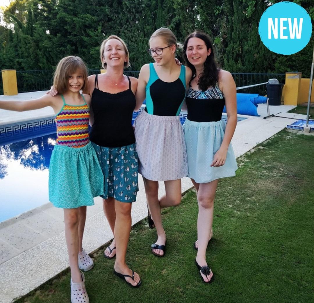 elasticated skirt workshop spain